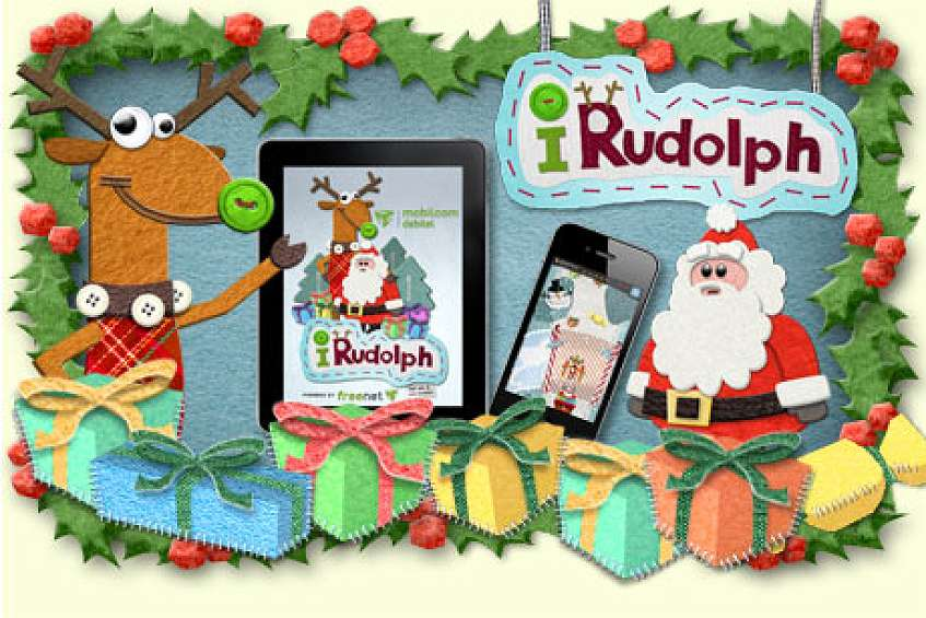 lauf rudolph lauf weihnachts app f r iphone ipad und. Black Bedroom Furniture Sets. Home Design Ideas