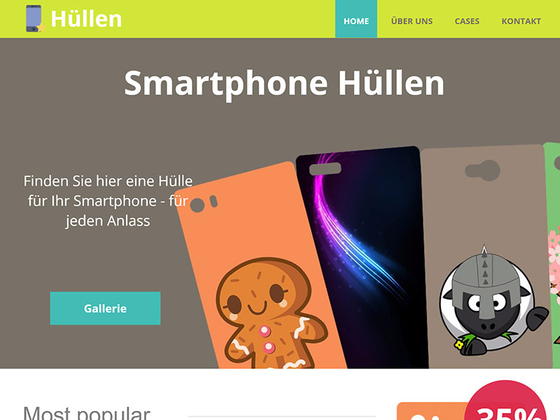 smart phone hullen hosting