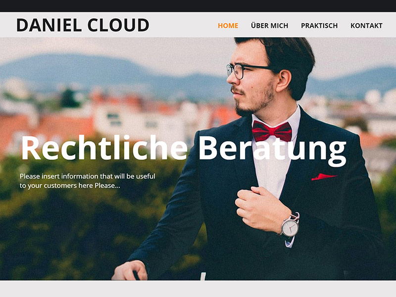 daniel cloud webhosting desktop