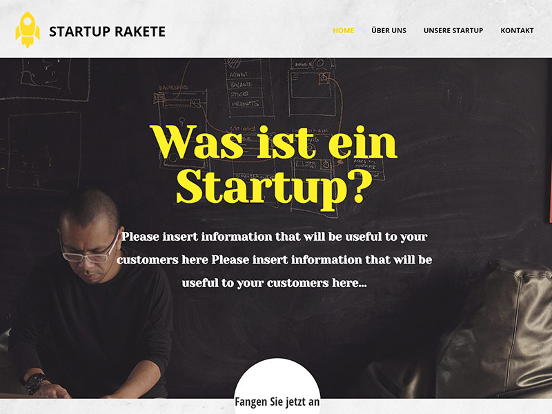 start up rakete webhosting
