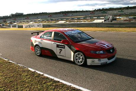 01WTCC Honda Accord Euro R