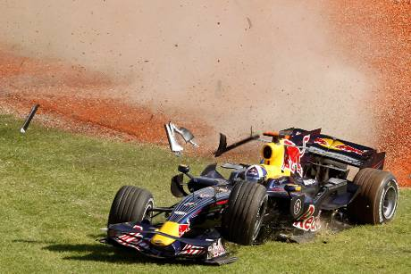 Coulthard Red Bull Australien