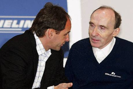 Frank Williams Gerhard Berger