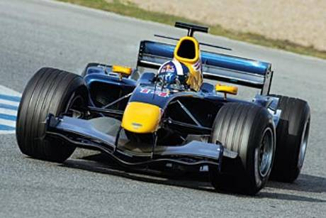 Red Bull RB2 DC test 06