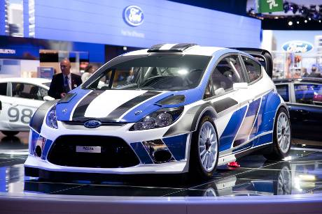 Ford Fiesta WRC 2011 - Paris