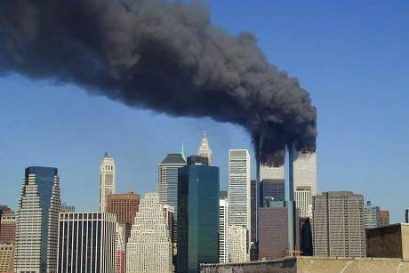 New York am 11. September 2001 © WikipediaUser UpstateNYer, ss-by-sa 3.0