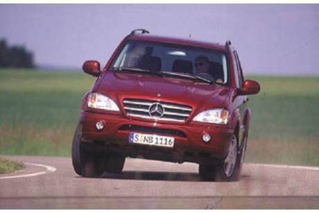 Mercedes ML 55 AMG Test