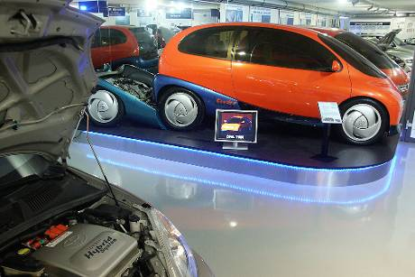 Opel Twin Museum Autovision