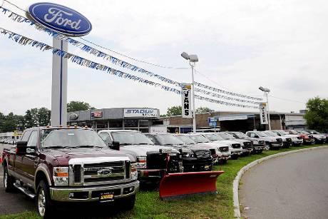 us-automarkt handel ford usa