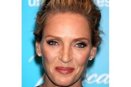 Uma Thurman gibt Babyparty