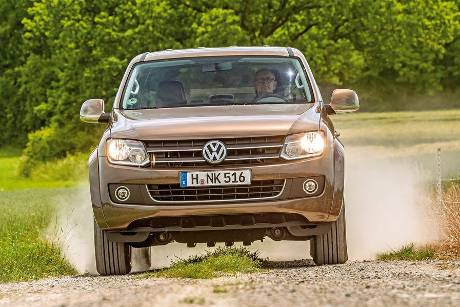VW Amarok Double Cab 2.0 Bi TDi 4Motion BM T Highline, Frontansicht