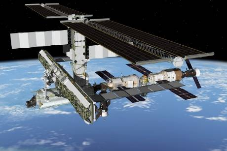 Raumstation ISS (Quelle: NASA)