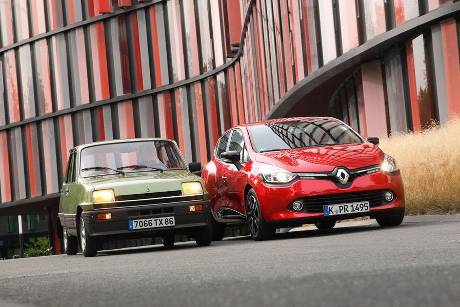 Renault Clio, Renault R5 GTL, Frontansicht