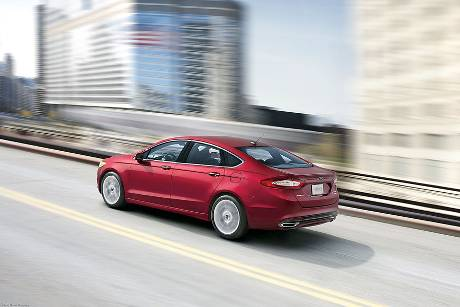 Ford Fusion, Heckansicht