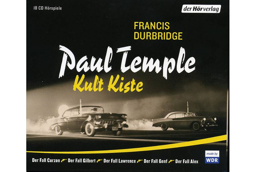 Paul Temple: 18 Kult-CDs in einer Kiste