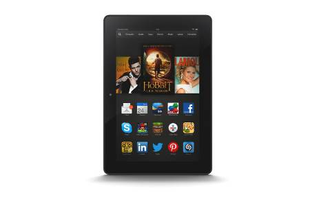 Amazon Kindle Fire HDX 8.9 im Test (c) Amazon