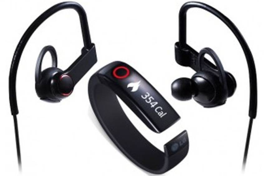 LG enthüllt Lifeband Touch und Heart Rate Earphones (c) LG