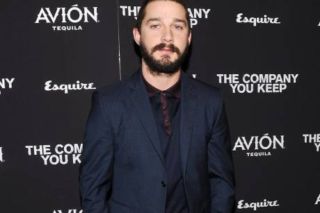 """Shia LaBeouf bei der Premiere von """"The Company You Keep"""" in New York"""