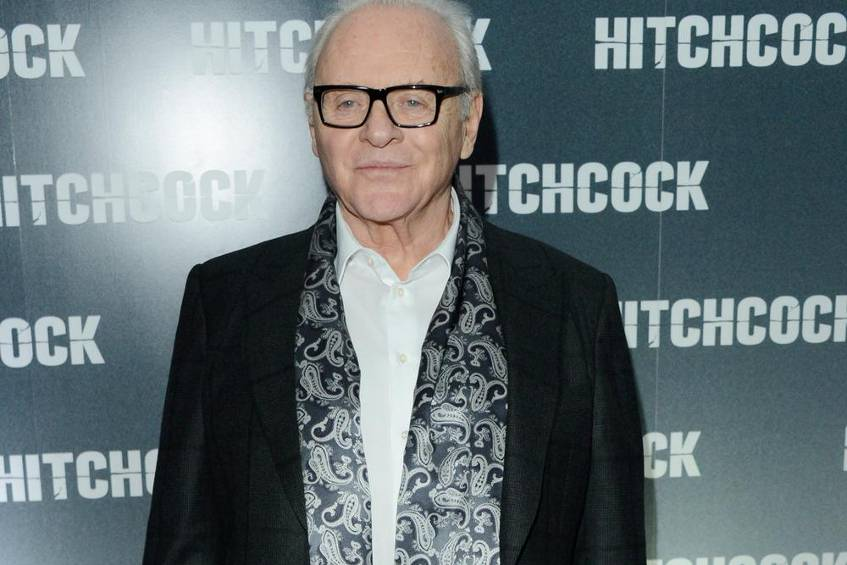 "Sir Anthony Hopkins bei der Premiere von ""Hitchcock"" in London"