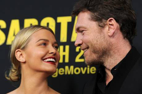 Sam Worthington und Lara Bingle bei einer Filmpremiere in Los Angeles