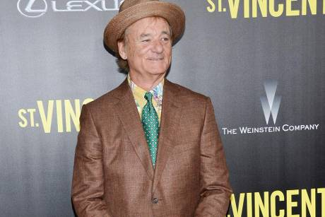 "Bill Murray bei der Premiere seines neuen Films ""St. Vincent"" in New York"