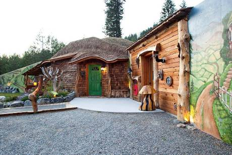 Das ultimative Hobbit-Haus steht in den USA