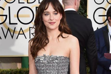 "Dakota Johnson bei der ""Golden Globe""-Verleihung 2015"