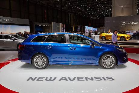Toyota Avensis - Genfer Autosalon 2015