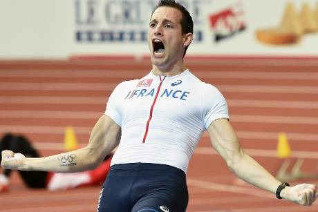 """Air France"" Lavillenie hebt beim ISTAF in Berlin ab"