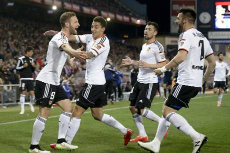 Mustafi mit Valencia in der Champions-League-Qualifikation