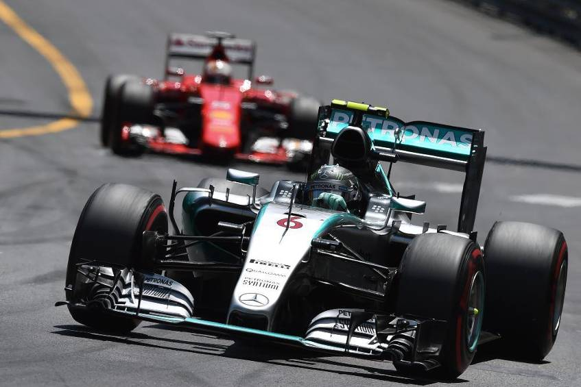 hattrick f r rosberg in monaco vettel zweiter vor hamilton. Black Bedroom Furniture Sets. Home Design Ideas