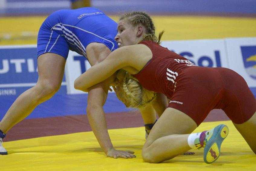 Ringerin Focken holt Bronze in Baku