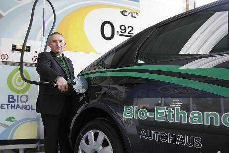 Ford, Bioethanol, Alternative Antriebe