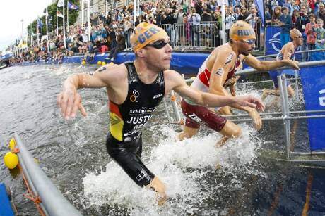 Triathlon: Philippin in Stockholm Siebte, 19. Platz für Justus