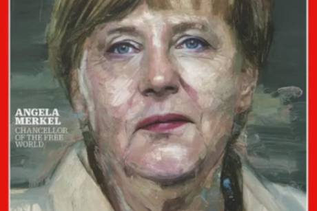 "Angela Merkel ziert das Cover des US-Magazins ""Time"""