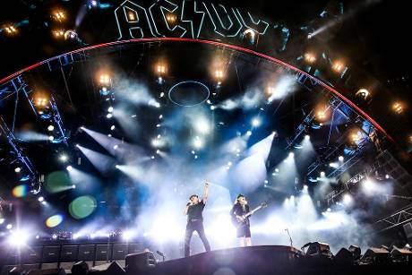 AC/DC bei ihrem Tourstopp in Los Angeles