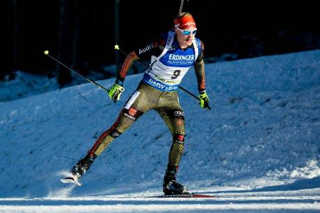 Doll in Ruhpolding bester Deutscher - Fourcade dominiert