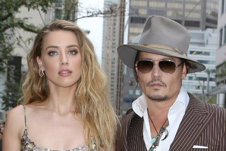 "Amber Heard und Johnny Depp auf der Premiere ihres Films ""The Danish Girl"""