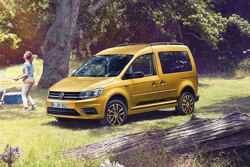 neuer vw caddy family 2016. Black Bedroom Furniture Sets. Home Design Ideas