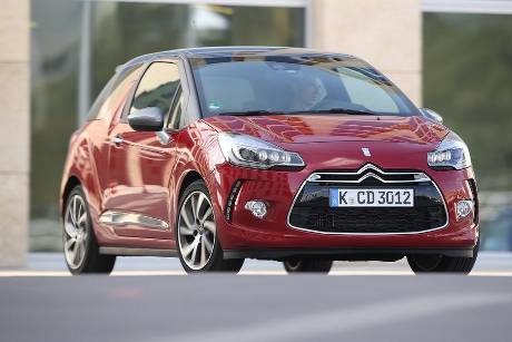 Citron DS3 BlueHDi 120, Frontansicht
