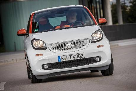 Fortwo Coup 1.0, Frontansicht