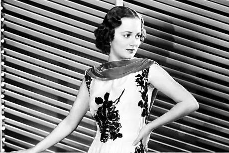 "Olivia de Havilland 1937 in dem Film ""Call It A Day"""