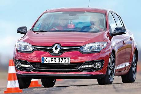 Renault Mgane Energy TCe 130, Frontansicht