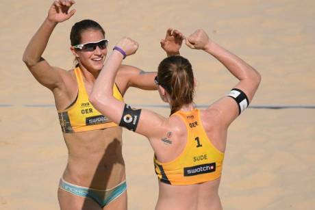 Beachvolleyball: Laboureur/Sude gewinnen Major-Turnier in Porec