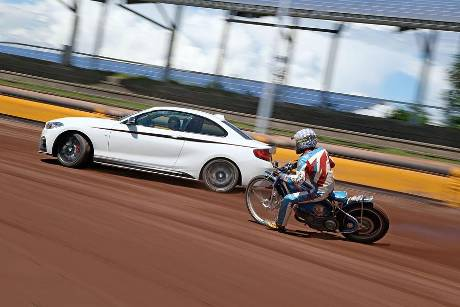 Speedwaybahn, BMW M235i, Impression