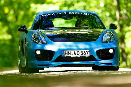 Speedart-Cayman SP81-CR, Frontansicht