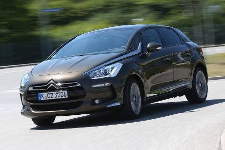 Citron DS 5 Blue HDi, Frontansicht