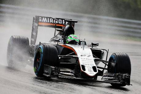 Nico Hlkenberg - Force India - Formel 1 - GP Ungarn - 23. Juli 2016