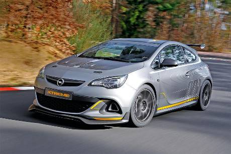 Opel Astra OPC Extreme, Frontansicht