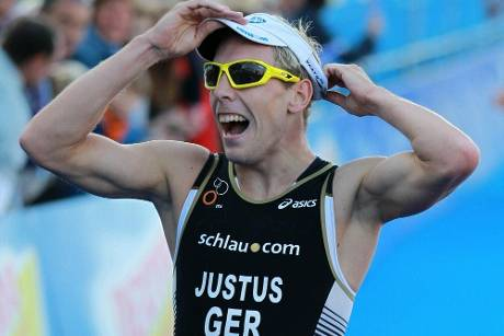 Triathlon-Weltserie: Justus und Zipf in den Top 10